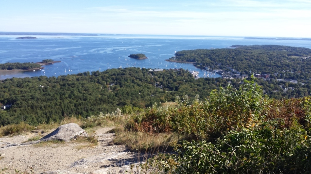 The View from Mt Battie, Camden